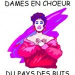Logo de la chorale dames en choeur du pays des Buis (Buxerolles, grand Poitiers)