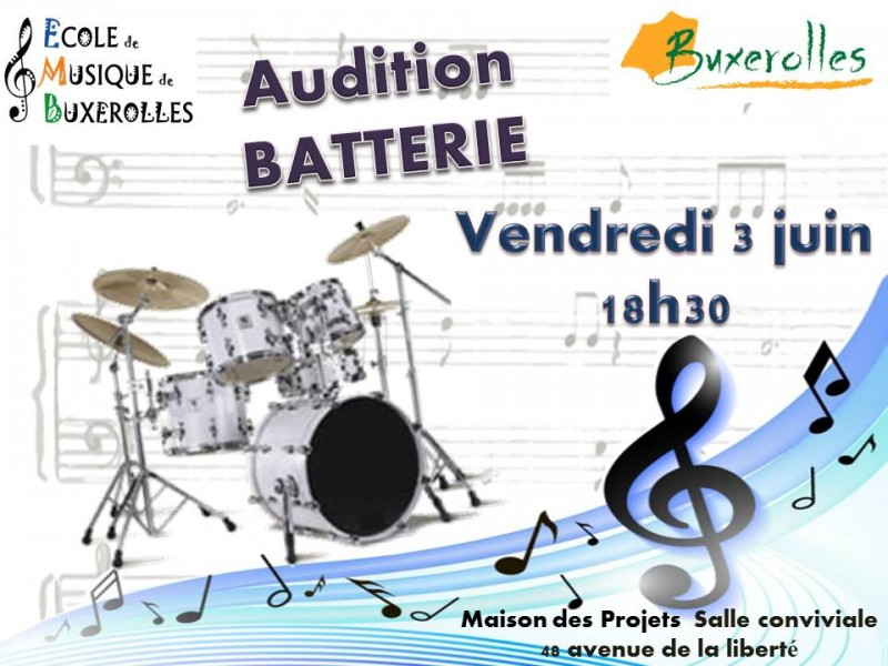 AUDITION BATTEIE VERSION 2