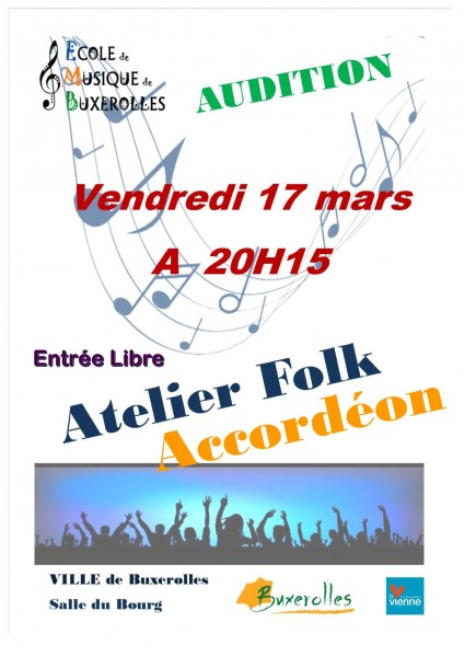 AUDITIONS AFFICHES 17 03 17