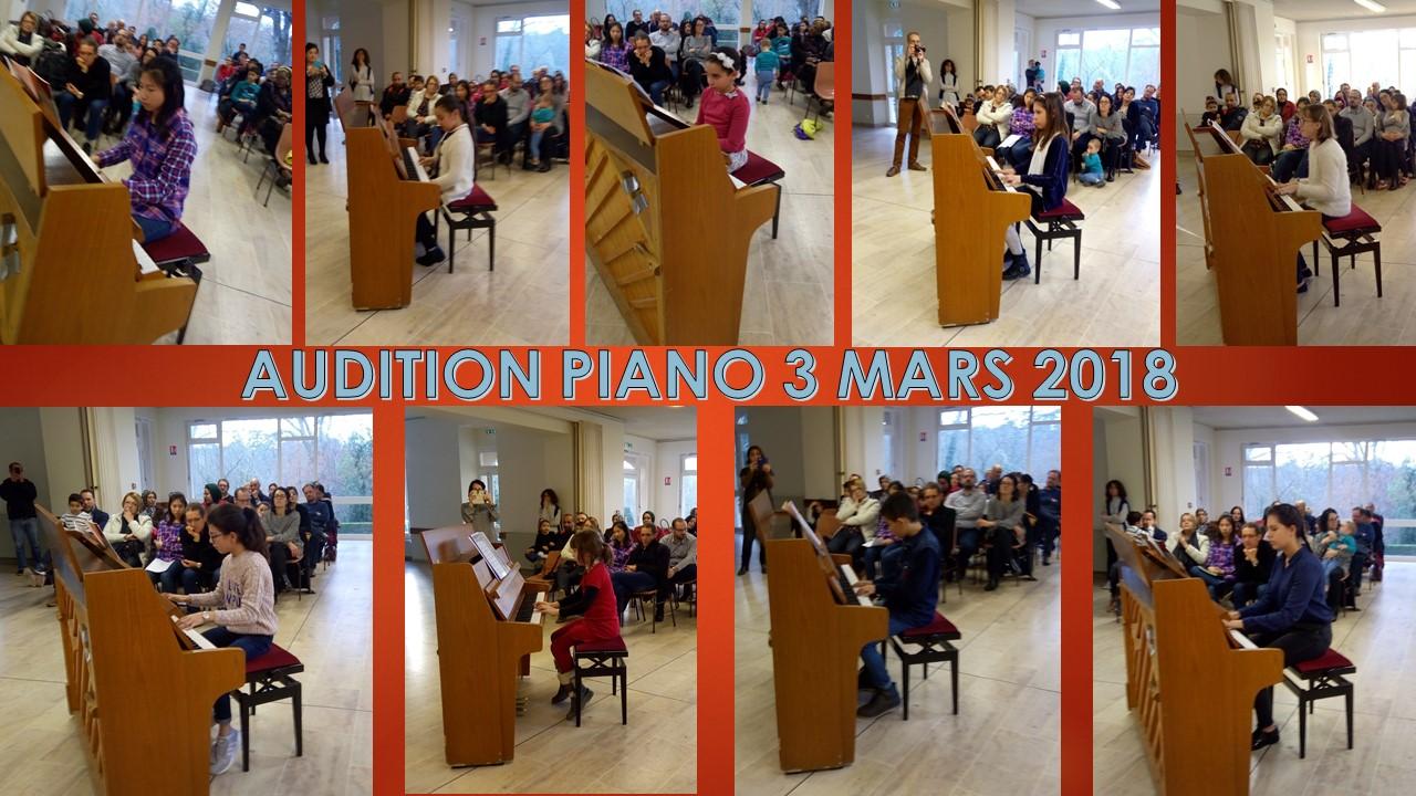 PIANO MARS 2018