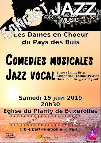 Comedies musicales jazz vocal